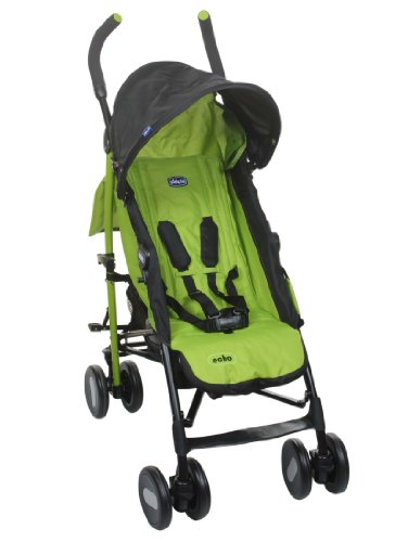Chicco Echo Stroller- Jade, Black/Green