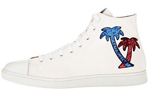 Marc Jacobs Heren Miami Baby-lovertjes Palmboom High-top Sneaker
