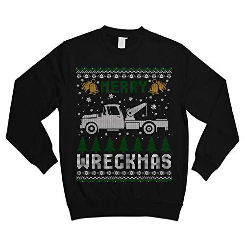 Tow Truck Christmas Merry Wreckmas Shirt