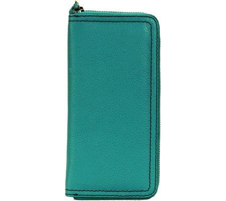 35a274457327 Hadaki by Kalencom Women's Billfold Wallet, Viridian Green, US at ...