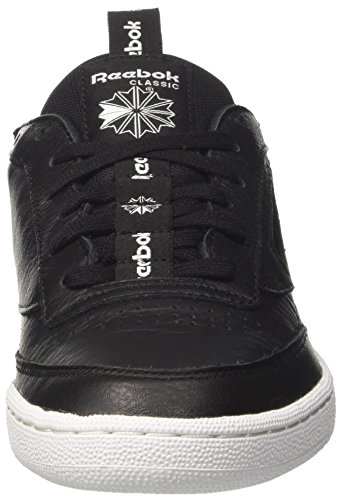 Reebok Herren Club C 85 It Gymnastikschuhe Schwarz (nero / Carbone / Bianco)