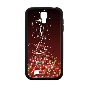 Shining Silk Ribbon Tree And Star Fashion Personalized Clear Cell Phone Case For Samsung Galaxy S4