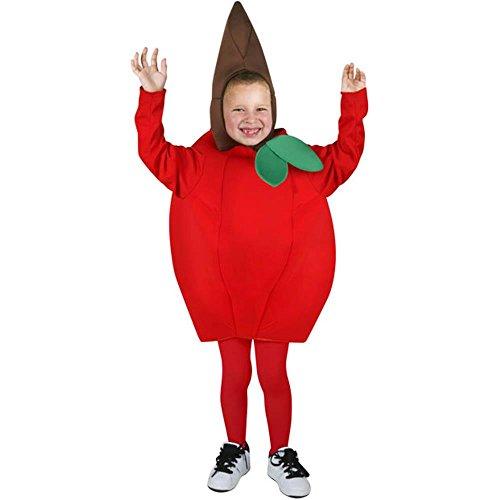 Red Apple Child Costumes (Funfill Boys Apple Halloween Costume)