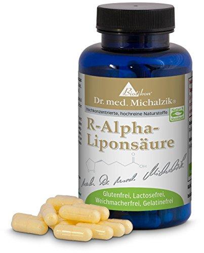 R-Alpha-Liponsäure 200 mg nach Dr. med. Michalzik, 60 Kapseln