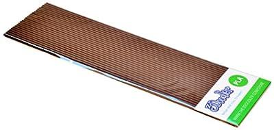 3Doodler Single Color PLA Pack, Brownie Brown