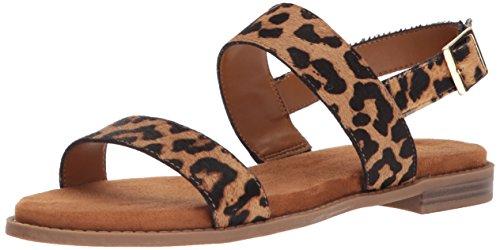 Franco Sarto Women's VELOCITY2 Flat Sandal Camel 8.5 M US from Franco Sarto