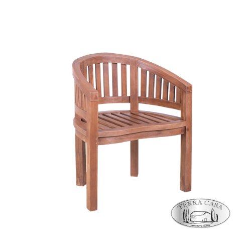 Amazon.de: Gartenstuhl 2er Set PADANG Teak Holz Gartenmöbel Stühle ...