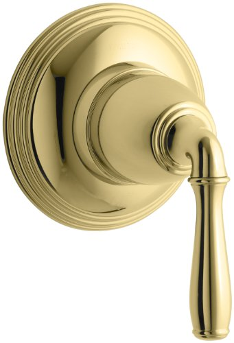 KOHLER K-T10358-4-PB Devonshire Volume Control Trim, Vibrant Polished Brass