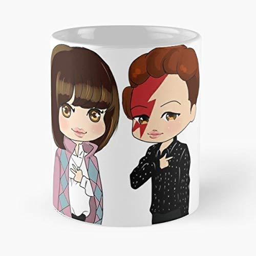 Shinee Taemin Taekai - 11 Oz Coffee Mugs Unique Ceramic Novelty Cup, The Best Gift For Halloween.