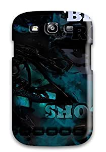 High-quality Durable Protection Case Case For Samsung Galsxy S3 I9300 Cover(black Rock Shooter )