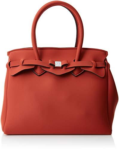 34x29x18 Donna Cm riad Mano Borsa Save Bag A My X Miss H w Rosso L qnBY0w