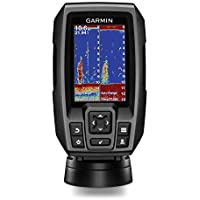 """$136 » Garmin Striker 4 with Transducer, 3.5"""" GPS Fishfinder with Chirp Traditional Transducer…"""