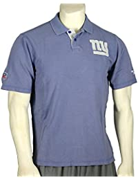 New York Giants NFL Mens Vintage Polo Shirt, Antique Blue