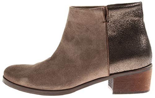 Pierre Kimkay Femmes en Cuir Bottine Look Cuir 6862 Sauvage Chaussures Cuir Reiter Femmes en Chaussures BqBPr16w