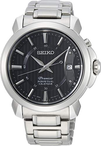 SEIKO Mens Analogue Quartz Watch with Stainless Steel Strap SNQ159P1