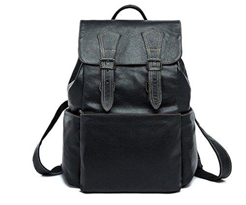 Bolsa para Mochila SHOUTIBAO 2 Flip de Cuero de Estudiante IR Hombres Viajar Flap 1 a Escuela la qRqtBnrx8
