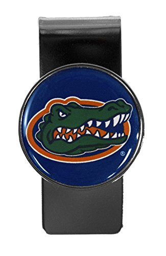 NCAA Florida Gators Stainless Steel Dome Money Clip
