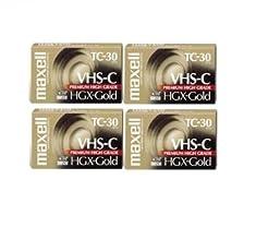 Maxell VHS-C TC-30 HGX Gold Blank Casset...