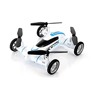 Syma X9 Fly Car 4 Channel 2.4Ghz RC Quadcopter - WHITE - 41ZraNyYD 2BL - SZJJX Fly Car 4 Channel 2.4Ghz RC Quadcopter