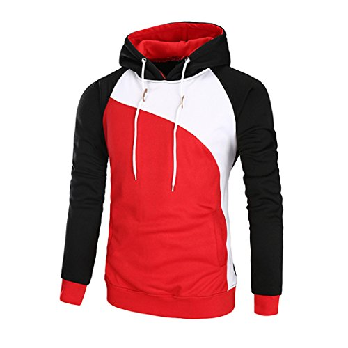 À Sweat Masee Capuche Veni Red shirt Homme AqSRHt