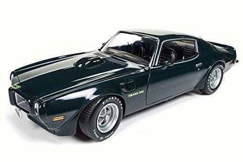 1973 Pontiac Firebird Trans Am, Brewster Green - Auto World AMM1109 - 1/18 Scale Diecast Model Toy Car