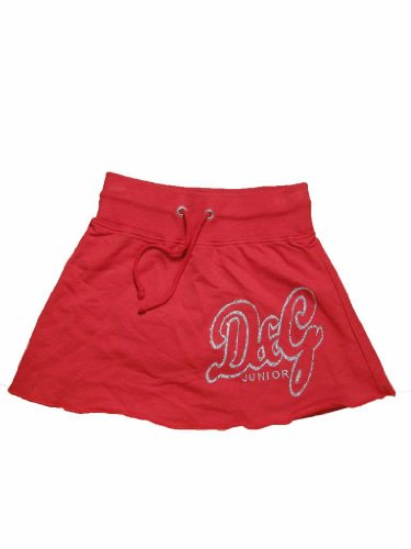 D&G Red Drawstring Skirt (5) - Gabbana Junior Dolce