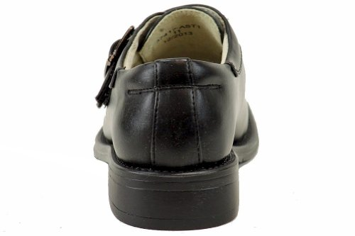 Easy Strider Boys 37417 Performance Fashion Loafer School Uniform Shoes Black