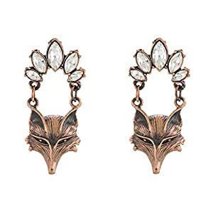 Just Showoff Alloy Fox Earrings