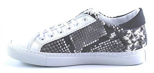 D.a.t.e. NEWMAN LOW-19 Zapatillas De Deporte Mujer Blanco - blanco