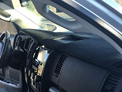 AutoTech Zone Dashboard Protector Dash Mat Sun Cover for 2009-2013 Toyota Corolla Reduce Hazardous Windshield Glare
