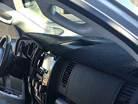 Reduce Hazardous Windshield Glare AutoTech Zone Dashboard Protector Dash Mat Sun Cover for 2010-2015 Hyundai Tucson