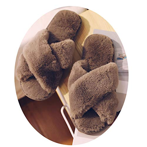 Talk about heaven Women Faux Fur Slippers Winter Women for sale  Delivered anywhere in USA