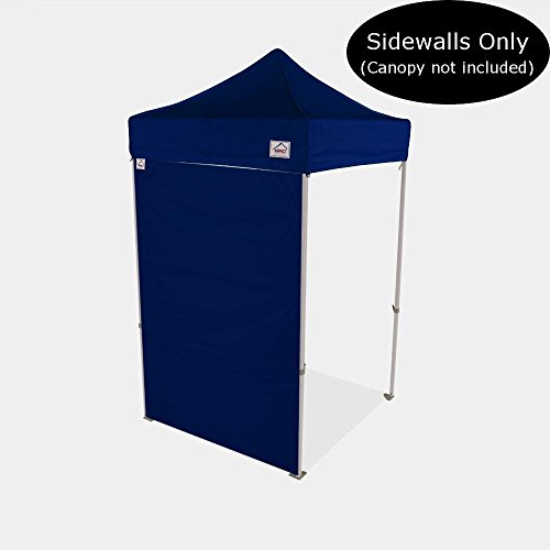 Impact Canopy 5-Foot Canopy Tent Wall, Sidewall Only, Navy Blue