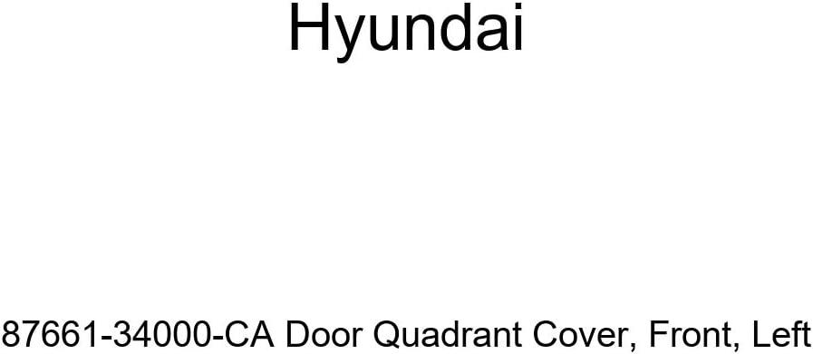 Genuine Hyundai 87661-34000 Door Quadrant Cover Left Front