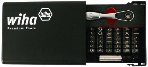(Wiha 71988 Security Bit Set in Compact Storage Box, 39-Piece)