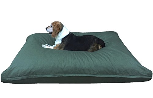 Dogbed4less Medium Memory Foam Dog Bed Pillow with Orthopedi