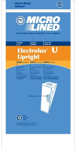 Mirco Lined Electrolux, Dicovery II, III, Prolux, Epic Anti Bacterial Vaccum 10 bags