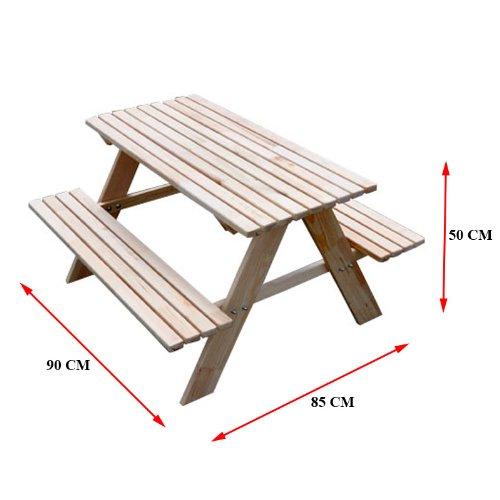 Best Finest Amazonde Sitzer Kinder Sitzgruppe Holz Garten Tisch Bank  Kindertisch Blau With Sitzgruppen Fr Garten With Tisch Fr Garten