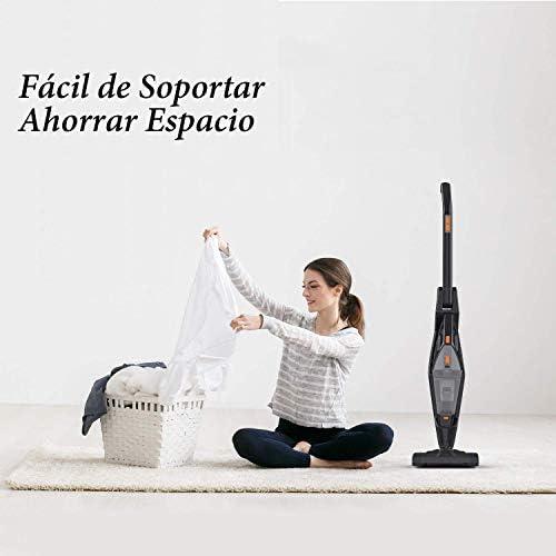 Aspiradoras Hogar Escoba, Hikeren Aspiradora de Mano Sin Cable ...