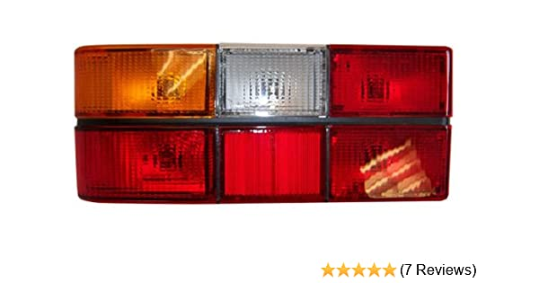 Tail Light Assembly Complete Volvo 240, DL, GL, 244 Black Center Molding  Left Side 1372449
