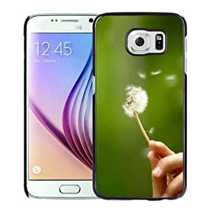 New Personalized Custom Designed For Samsung Galaxy S6 Phone Case For Dandelion In Hand Phone Case Cover Kimberly Kurzendoerfer