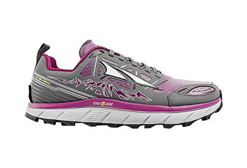 Altra Women's Lone Peak 3 Low Neo Running Shoe, Color: Gray/Purple, Size: 5.5, Width: D (A2653LOW-2-055-D)