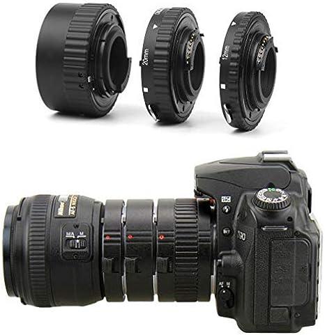 Enfoque Automático de Extensión Macro Juego de Tubos para Nikon ...