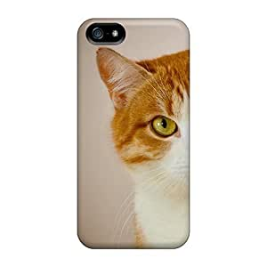 Protection Case For Iphone 5/5s / Case Cover For Iphone(feline Sight)