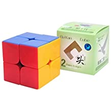 Dayan Zhanchi 2x2 Stickerless Speed Cube Puzzle, 50 Mm