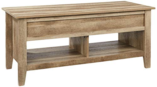 Rockpoint Argus Lift-Top Wood Coffee Table, Sandy Oak