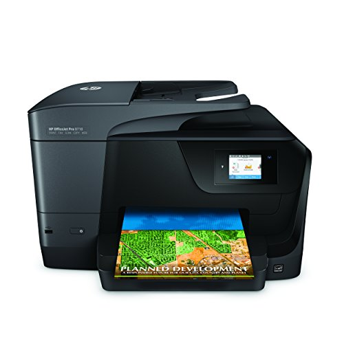 hp officejet pro 8710 wireless all in one photo printer with import it all. Black Bedroom Furniture Sets. Home Design Ideas