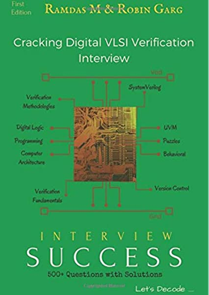 Cracking Digital Vlsi Verification Interview Interview Success Mozhikunnath Ramdas Garg Robin 9781519089861 Amazon Com Books