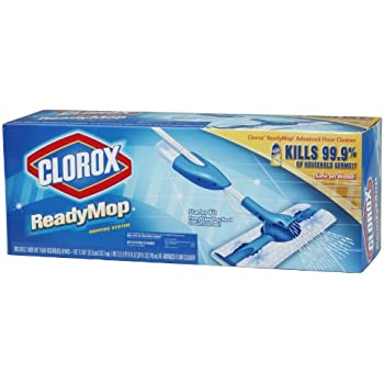 Amazon Com Clorox Readymop Starter Kit 1 Kit Pack Of 4
