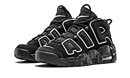 Nike Air More Uptempo Black White GS sz 5Y 415082-002 Youth